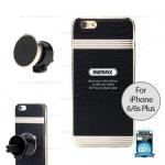 ที่ยึดโทรศัพท์ + เคส Iphone6/6s PLUS สีทอง - REMAX