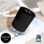 อะแดปเตอร์ รุ่น Warrior WP-U04 2 USB (สีดำ) - WK