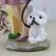 ตุ๊กตาเรซิ่นห้อยขาแนววินเทจทาสน้องหมาน่ารัก (ตัวละ 290/1 ตัว ) thumbnail 9
