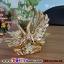 หงษ์ทองคู่เซมิคเคลือบทองแสนสง่า ขนาด 16.5*26.5*27 cm. thumbnail 3