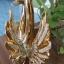 หงษ์ทองคู่เซมิคเคลือบทองแสนสง่า ขนาด 16.5*26.5*27 cm. thumbnail 4
