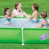 ( ขนาด 5 ฟุต ) สระว่ายน้ำ Bestway My First Frame Pool ขนาด 1.6 เมตร (คละสี)