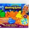 ทรายวิทยาศาสตร์ พร้อมอุปกรณ์ ทรายชุดแม่พิมพ์ ชุดทะเล (ทราย 500 กรัม) **คละสี **