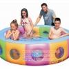 ( ขนาด 6.5 ฟุต ) สระน้ำเป่าลม สีรุ้ง ทรงกลม ขนาด 2 เมตร Bestway 51064 Inflatable Pool