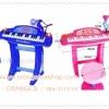 ออร์แกน คีย์บอร์ด เครื่องดนตรี Electronic Keyboard เปียโน สำหรับเด็ก พร้อมเก้าอี้ (สีชมพู สีฟ้า) ออแกน