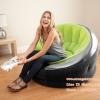 Intex โซฟาเป่าลม เก้าอี้โซฟาเป่าลม Empire chair รุ่น 68582 สีเขียว