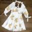 พร้อมส่ง Dress พิมพืลายเลมอนน่ารัก thumbnail 2