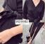 ชุดเดรสแฟชั่น พร้อมส่ง maxi dress ตัวยาวทรงสวย thumbnail 4
