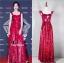 ชุดเดรสเกาหลี พร้อมส่ง Maxi Dress เดรสยาว สายเดี่ยวสีแดง thumbnail 1