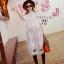 พร้อมส่ง Long shirt Dress เดรสเกาหลี thumbnail 4