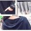 เดรสเกาหลี พร้อมส่ง Dress Hood แขนยาว thumbnail 4