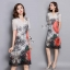 พร้อมส่ง Dress ตัวยาว คอวีลึก thumbnail 4