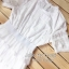 ชุดเดรสเกาหลี พร้อมส่ง ชุดเดรสสีขาว ทรงแขนสั้น thumbnail 9