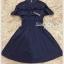เดรสเกาหลี พร้อมส่ง Dress ชุดกระโปรงสีกรม thumbnail 9