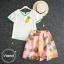 เสื้อผ้าเกาหลี พร้อมส่ง เสื้อสัปปะรดกับกระโปรง thumbnail 5