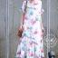 ชุดเดรสเกาหลี พร้อมส่ง Maxi Dress ทรงปล่อย thumbnail 5