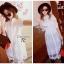 พร้อมส่ง Long shirt Dress เดรสเกาหลี thumbnail 7