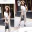 เสื้อผ้าเกาหลี กับกางเกงขายาว 9 ส่วน พร้อมส่ง thumbnail 16