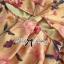 พร้อมส่ง จั้มสูทพิมพ์ลายดอกไม้สีเหลืองคัทเอาท์เอว thumbnail 11