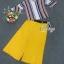 พร้อมส่ง Sets เสื้ออัดพลีทเล็กลายสีสันสดใส thumbnail 5