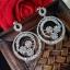 พร้อมส่ง Diamond Earring ต่างหูเพชร CZ แท้ thumbnail 4