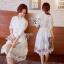พร้อมส่ง Long shirt Dress เดรสเกาหลี thumbnail 1
