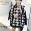 เสื้อผ้าเกาหลี Setเสื้อคลุมลายชิโนริ thumbnail 2