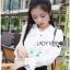 เสื้อเกาหลี พร้อมส่ง เสื้อผ้าเครปตอกแต่งลูกไม้ปักลาย thumbnail 5