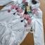 พร้อมส่ง เสื้อแฟชั่น เชิ้ตยาวปักลายดอกไม้ thumbnail 14