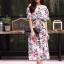 ชุดเดรสเกาหลี พร้อมส่ง Dress ปริ้นลายใบไม้ thumbnail 9
