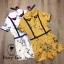 เสื้อผ้าเกาหลี พร้อมส่ง จั้มสูท คอบัวปักดอกไม้ thumbnail 8