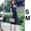 ชุดเดรสเกาหลี พร้อมส่ง dress ปักลายดอกไม้ thumbnail 2