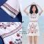 เดรสเกาหลี พร้อมส่ง Maxi Dress เดรสเกาหลี งานปัก thumbnail 2