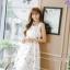 เดรสเกาหลี พร้อมส่ง เดรสผ้าซาตินเนื้อนิ่ม เงาสวย thumbnail 10