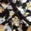 พร้อมส่ง จัมป์สูทขาสั้นแขนบานพิมพ์ลายดอกไม้ thumbnail 9