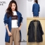 เสื้อเกาหลี พร้อมส่ง Blazer Jean เสื้อคลุม thumbnail 1