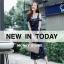 ชุดเดรสเกาหลี พร้อมส่ง dress ปักลายดอกไม้ thumbnail 3