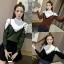 เสื้อเกาหลี พร้อมส่ง เสื้อไหมพรมแขนยาว thumbnail 7