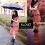 เดรสเกาหลี พร้อมส่ง Mini dress ระบายชีทู 3 ชั้น thumbnail 9