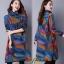 เดรสเกาหลี พร้อมส่ง Dress คอเต่า แขนยาว thumbnail 8