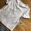 พร้อมส่ง เสื้อยืดสีขาวปักลายและกางเกงยีนต์ thumbnail 10