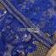เดรสลูกไม้ พร้อมส่ง เดรสผ้าลูกไม้ สีน้ำเงินสด thumbnail 17