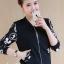 เสื้อเกาหลี แจ็กเก็ตสีดำ พร้อมส่ง thumbnail 7