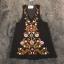 พร้อมส่ง mini dress สีดำแขนกุด ปักดอกไม้ thumbnail 8