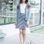 เสื้อผ้าแฟชั่นเกาหลี SET ไหมพรม พร้อมส่ง thumbnail 11