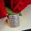 พร้อมส่ง Diamond Ring งานเพชรสวิส เพชร 7 แถว thumbnail 3
