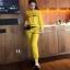 เสือผ้าแฟชั่นเกาหลี พร้อมส่ง เสื้อ+กางเกง BRAND GUCCI thumbnail 6