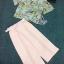 พร้อมส่ง เสื้อกับกางเกงขายาวสีชมพู thumbnail 10