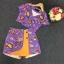 พร้อมส่ง ชุดเซ็ทเสื้อกับกระโปรงกางเกง thumbnail 13