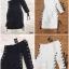 ชุดเดรสเกาหลี พร้อมส่ง Dress ไหล่ข้างเดียว ทรงเข้ารูป thumbnail 11